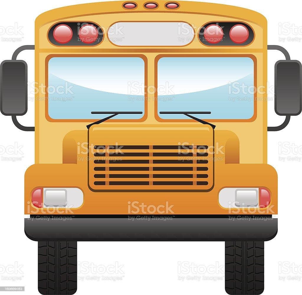royalty free school bus bus clip art front view clip art vector rh istockphoto com