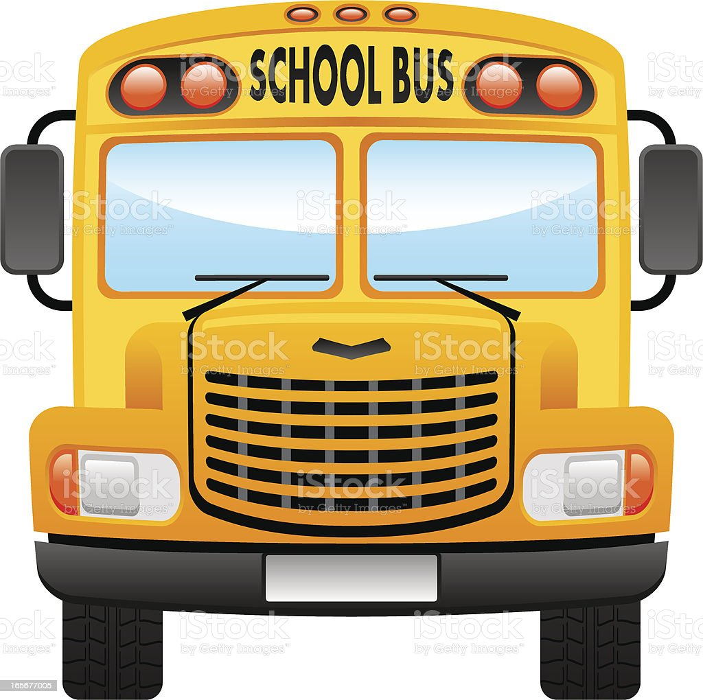 school bus stock vector art more images of bus 165677005 istock rh istockphoto com school bus vector png school bus vector graphic