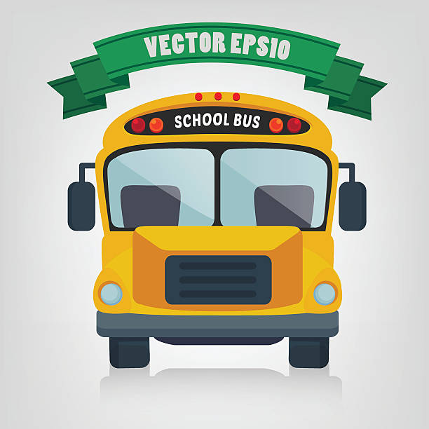 School Bus – Vektorgrafik