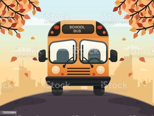 School Bus Stock Illustration - Download Image Now