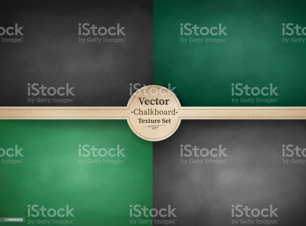 School chalkboard backgrounds. vector art illustration