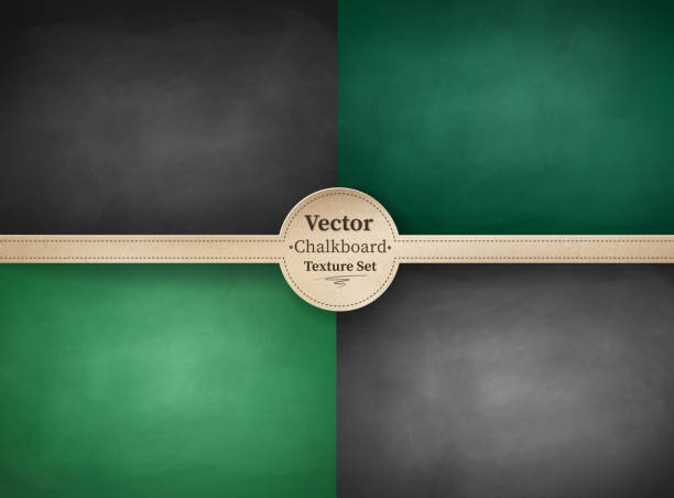 school chalkboard backgrounds. - back to school stock illustrations, clip art, cartoons, & icons