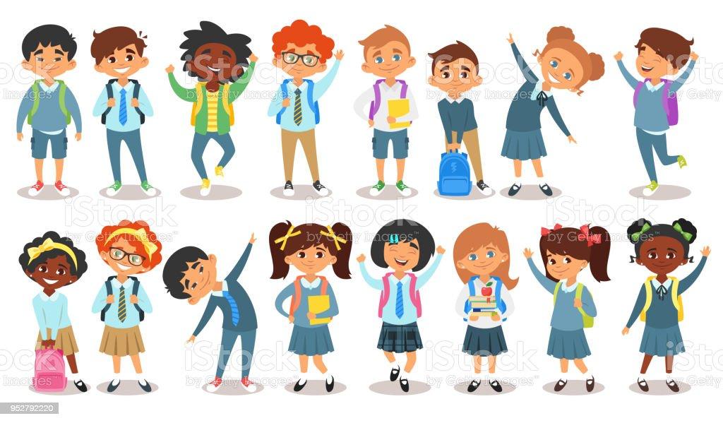 Dibujos De NiÑos Por Nacionalidades: Ilustración De Niños De Diferentes Nacionalidades Y Más