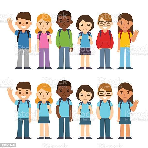School children set vector id586043280?b=1&k=6&m=586043280&s=612x612&h=epbloal4uhp3qgju 4rewdwd1dlwdjxjed10pybcyg0=