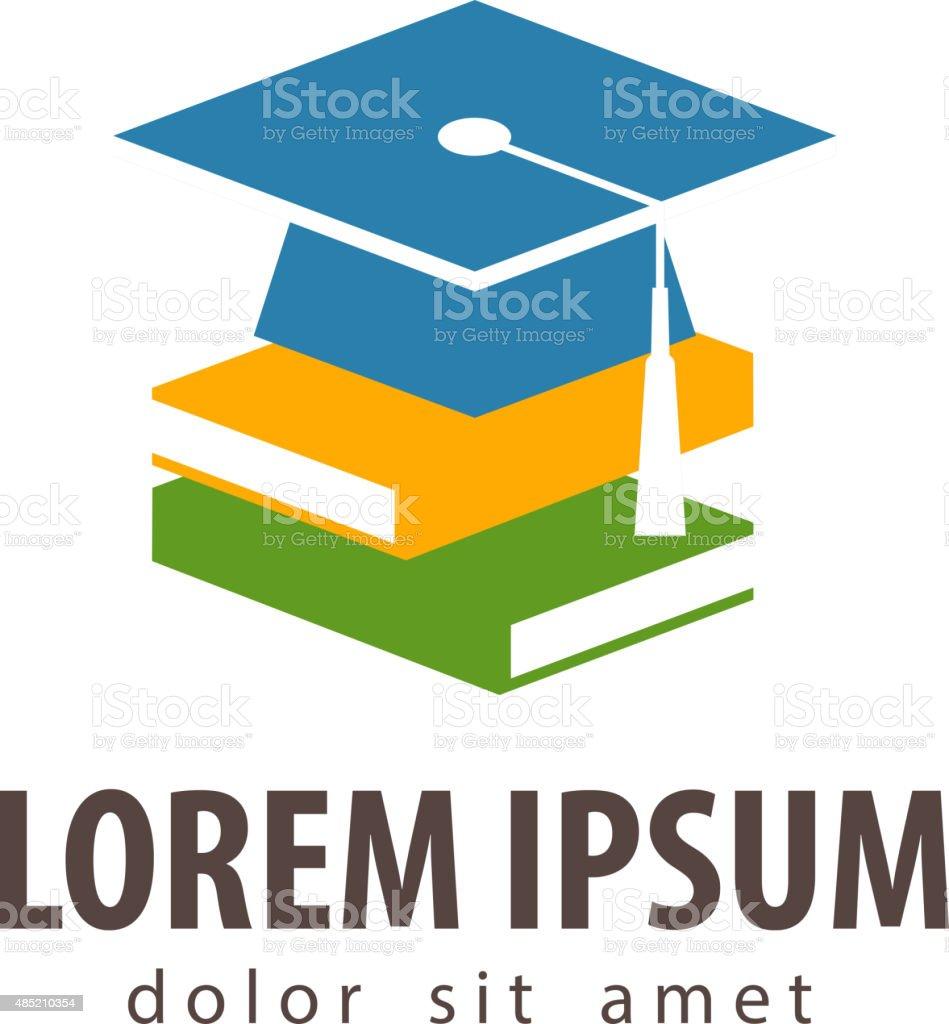 school, college, university vector logo design template. education, schooling or vector art illustration