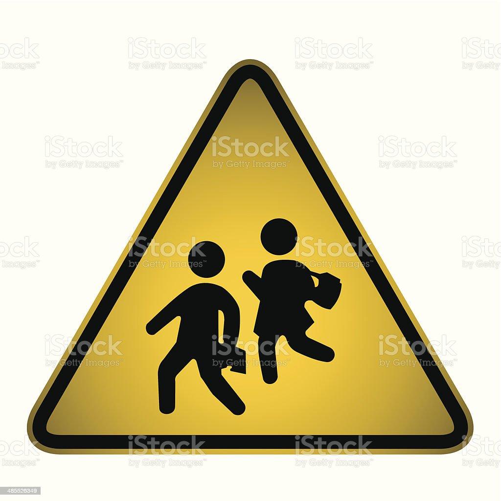 学校 crossing signベクター のイラスト素材 485526349 istock