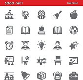 School Icons - Set 1