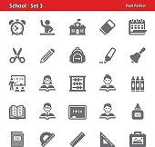 School Icons - Set 3