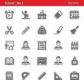 School Icons - Set 3
