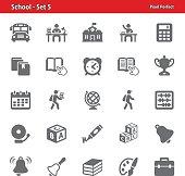 School Icons - Set 5