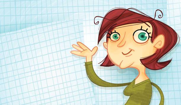 School is Cool! ~ Happy Teacher vector art illustration