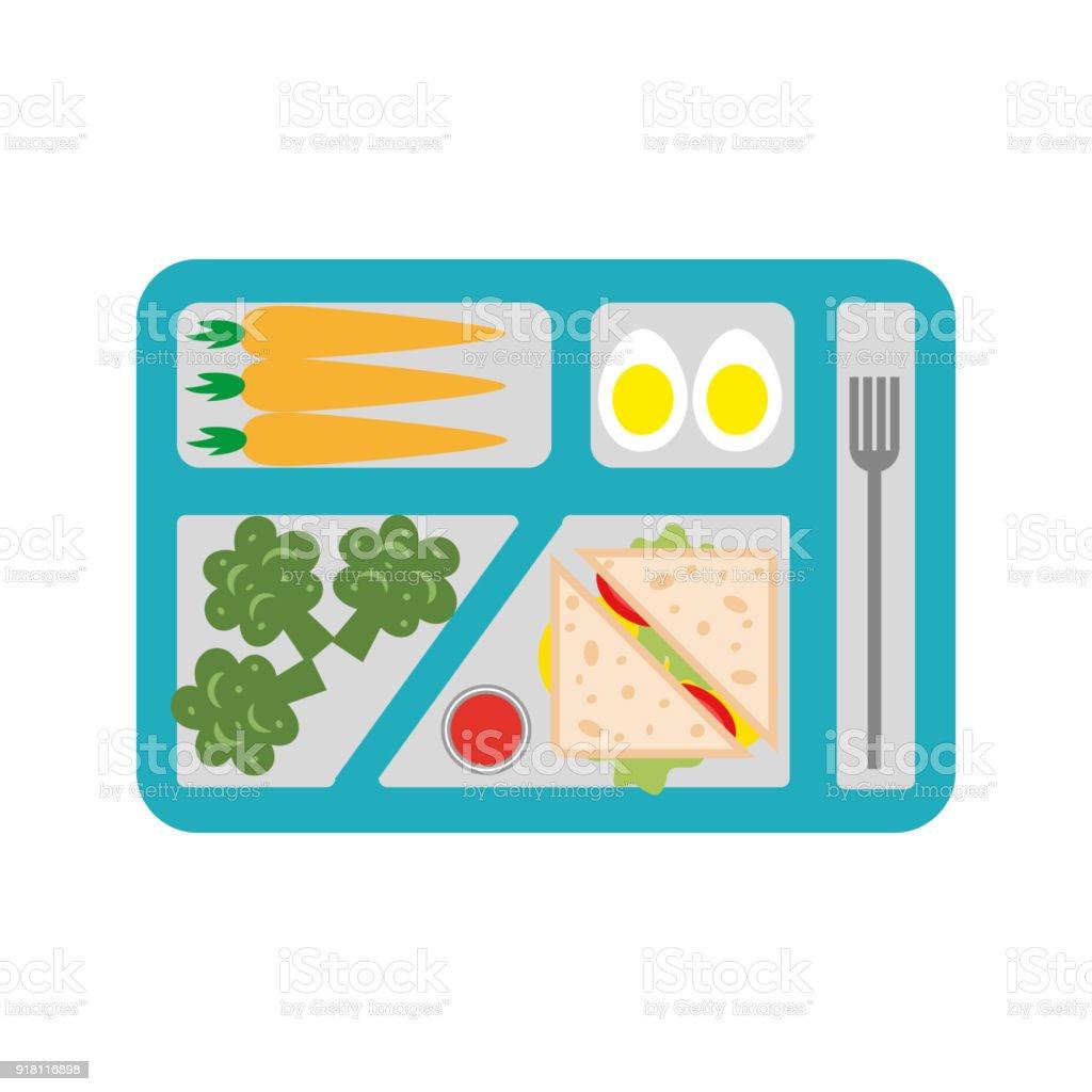 royalty free school lunch tray clip art vector images rh istockphoto com school lunch tray clipart school lunch tray clipart