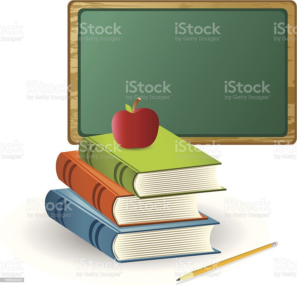 School Message royalty-free stock vector art
