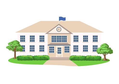 School or public institution building