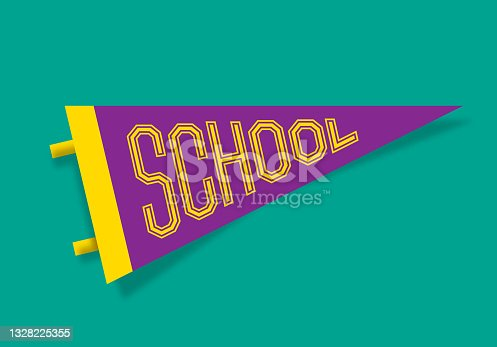 School Pennant Design