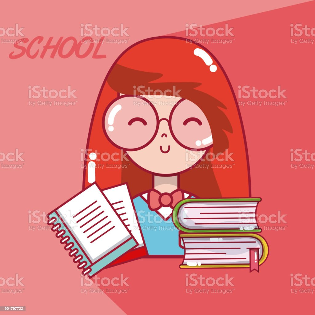 School student girl royalty-free school student girl stock vector art & more images of adult