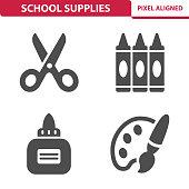 istock School Supplies Icons 931395192