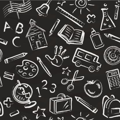 School Symbols Wallpaper