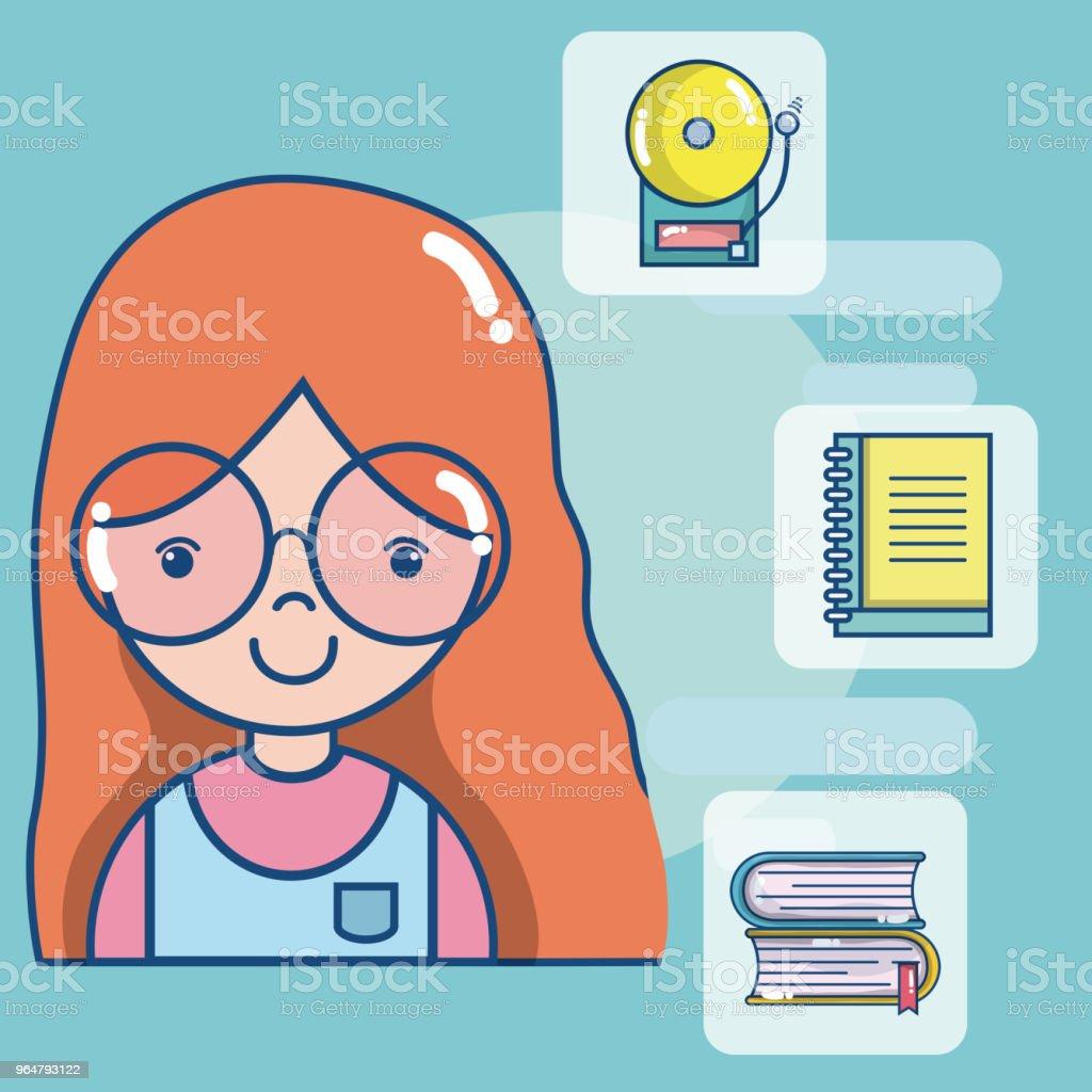 school teacher cartoon royalty-free school teacher cartoon stock vector art & more images of no people