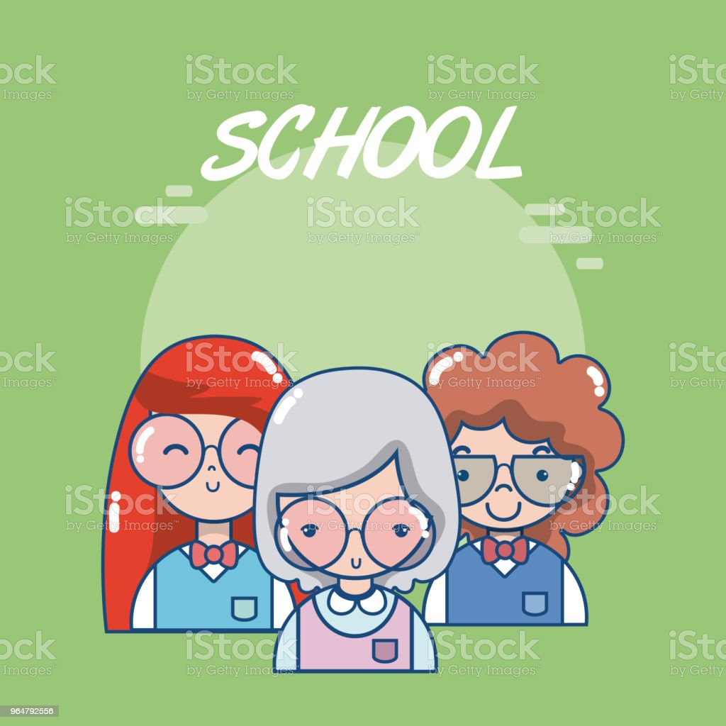 School teachers and students royalty-free school teachers and students stock vector art & more images of art