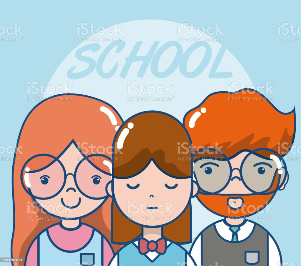 School teachers and students royalty-free school teachers and students stock vector art & more images of no people