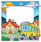 School theme frame 5
