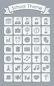 School Theme Icons
