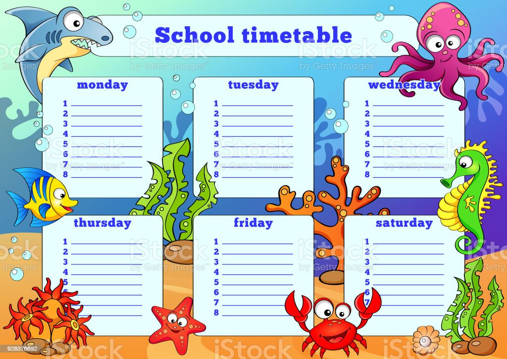 how to get timetable from one school