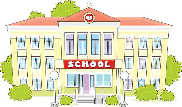 school - grundschule stock-grafiken, -clipart, -cartoons und -symbole