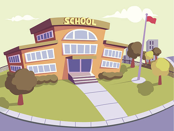 school - recess stock illustrations, clip art, cartoons, & icons