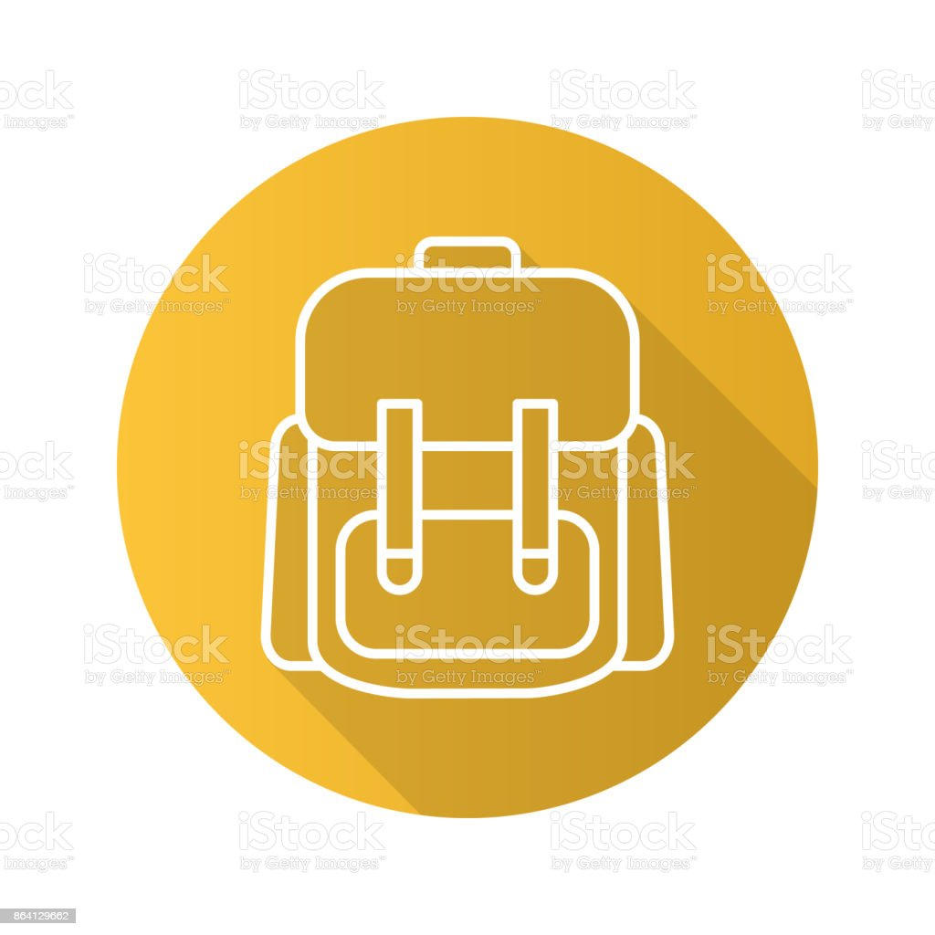 Schoolbag icon royalty-free schoolbag icon stock vector art & more images of backpack