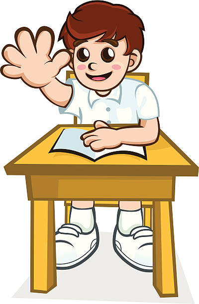 schoolboy - cartoon of a hazmat suit stock illustrations, clip art, cartoons, & icons