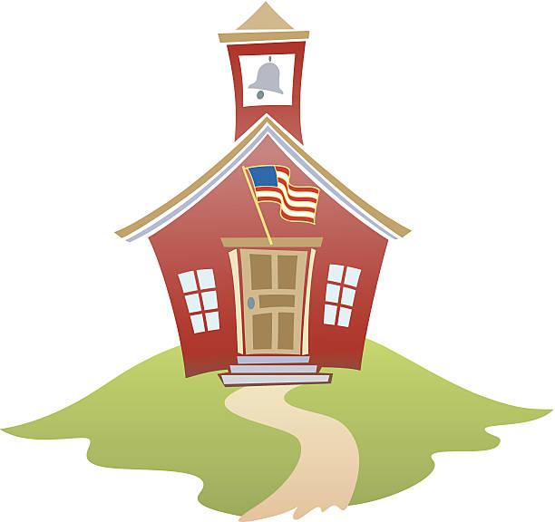 Schoolhouse C Schoolhouse C schoolhouse stock illustrations