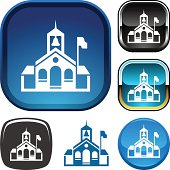 Schoolhouse icon