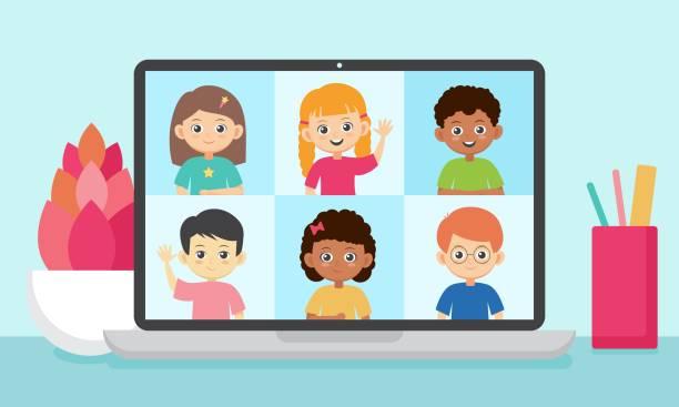 1,759 Kid Facetime Illustrations & Clip Art - iStock