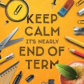 Schools out, end of term