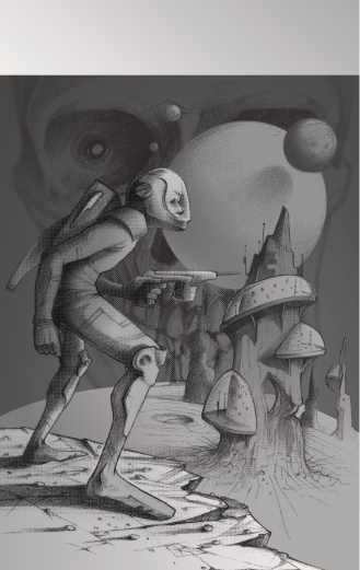 sci fi novel: the space invasion of roger doogie