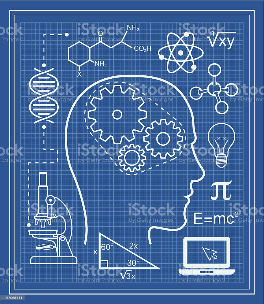 Science and education blueprint stock vector art more images of science and education blueprint royalty free science and education blueprint stock vector art amp malvernweather Gallery