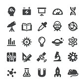 Science and Research Icons - Smart Series