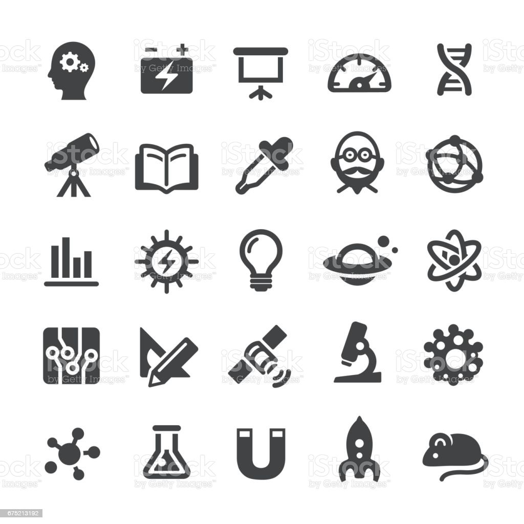 Science and Research Icons - Smart Series vector art illustration