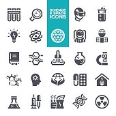Science and Space Icon set