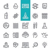 Science and Space Icons