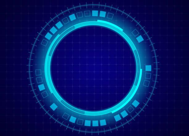 wissenschaftlicher und technologischer hintergrund - computergrundlagen stock-grafiken, -clipart, -cartoons und -symbole