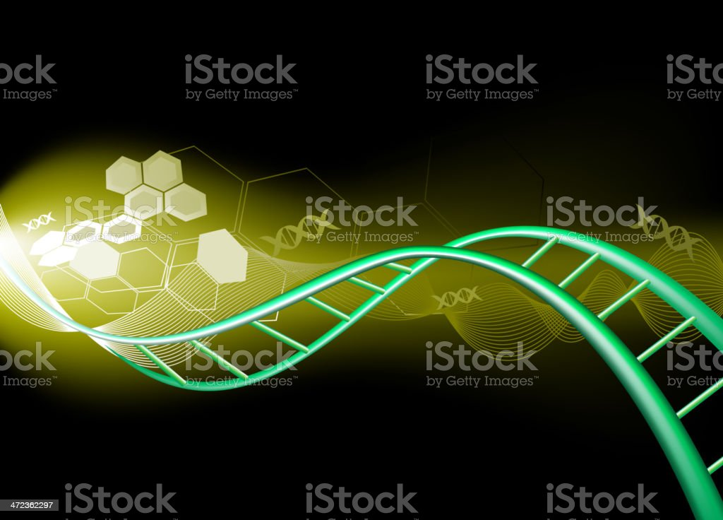 DNA science background royalty-free dna science background stock vector art & more images of abstract