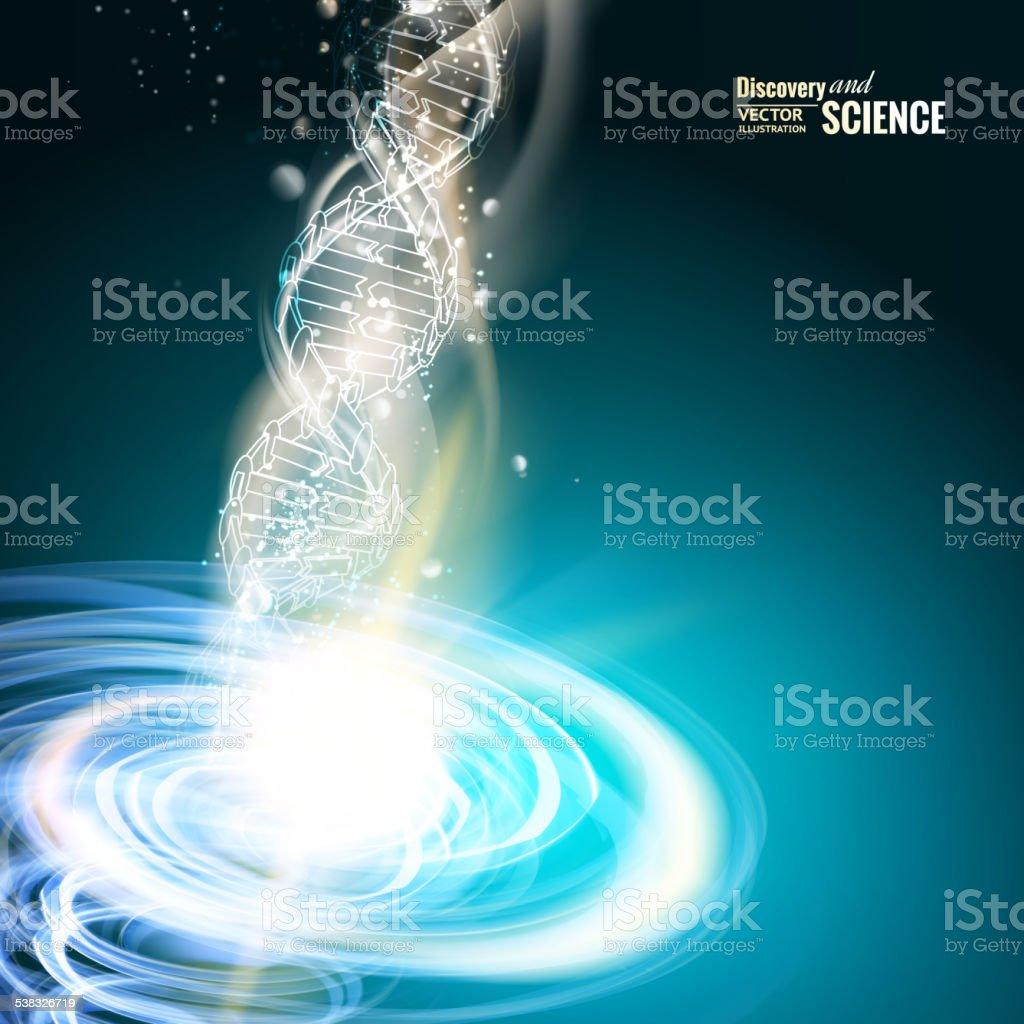 Science concept vector art illustration