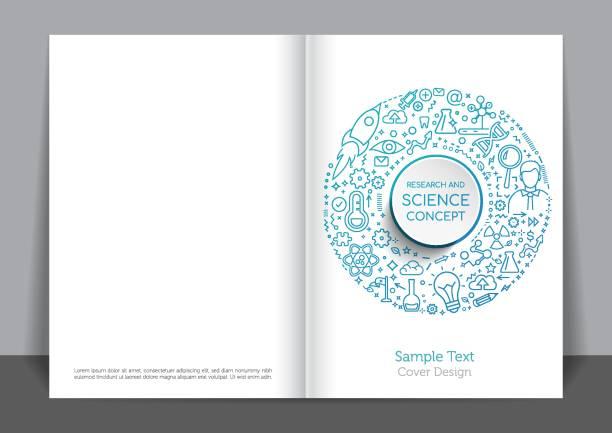 bildbanksillustrationer, clip art samt tecknat material och ikoner med vetenskap täcka design - changing bulb led