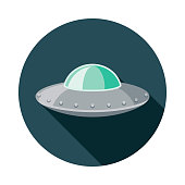 istock UFO Science Fiction Icon 1253552765