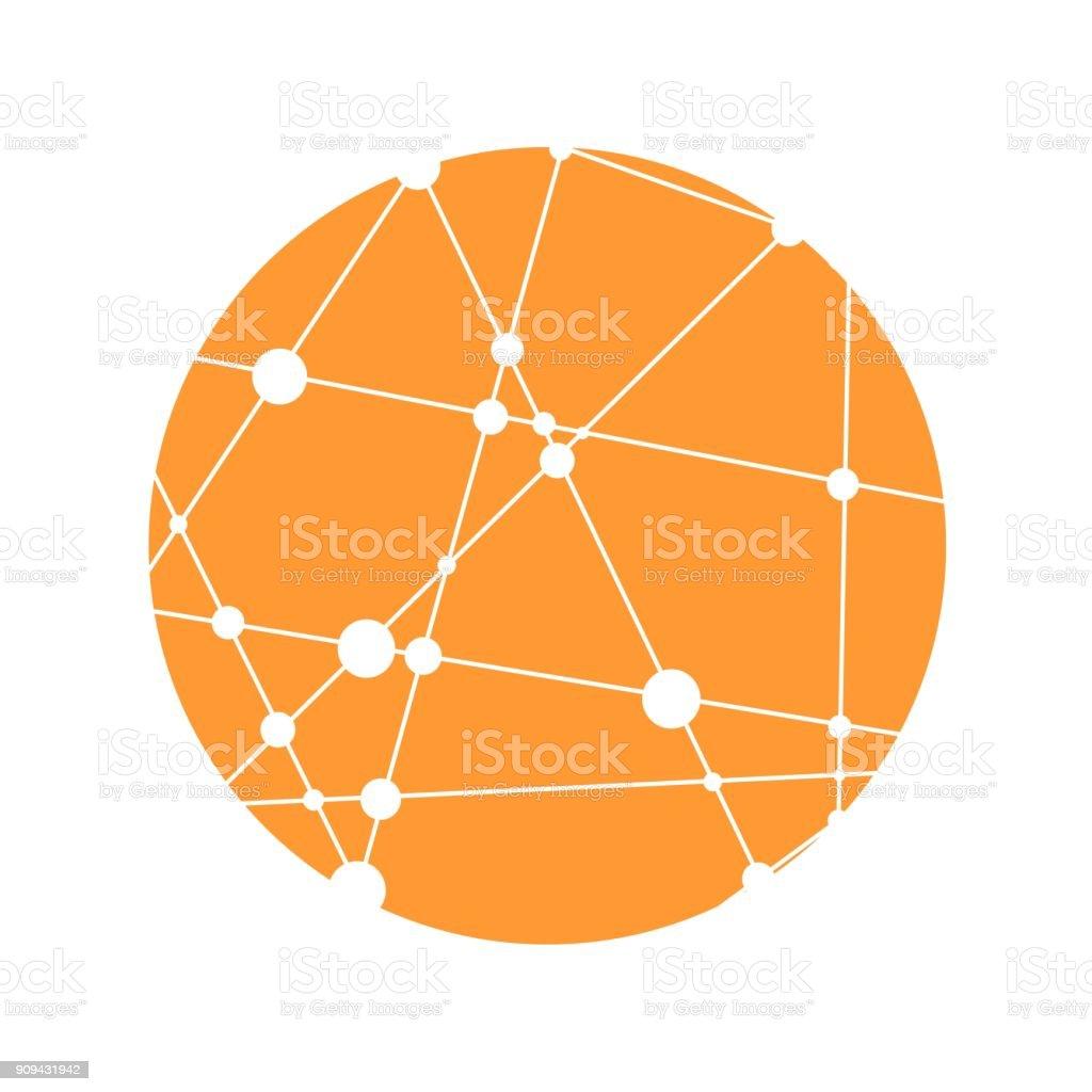 Science icon design. vector art illustration
