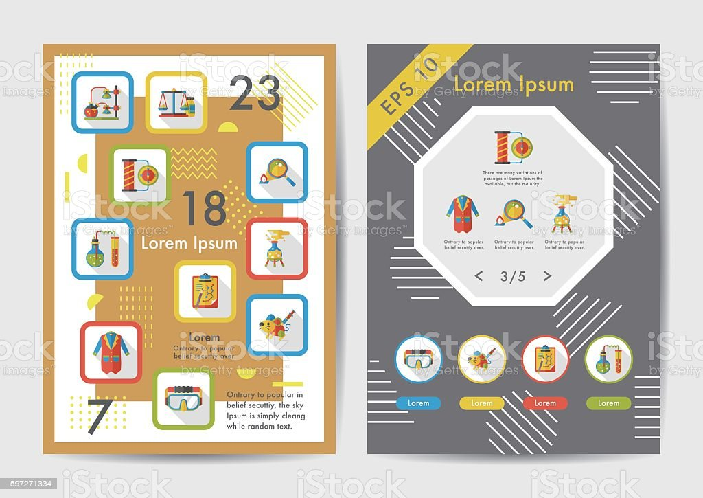 Science icons set with long shadow,eps10 royalty-free science icons set with long shadoweps10 stock vector art & more images of atom