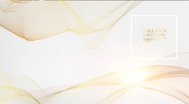 ilustrações, clipart, desenhos animados e ícones de ilustração da ciência de um fluxo de creme. regenere o creme de cara e o conceito complexo da vitamina. cosméticos orgânicos e cuidados com a pele solução. projeto do cuidado de pele da beleza sobre o fundo cinzento. - tratamentos de beleza